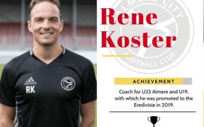 Rene koster genomineerde sport coach 2019